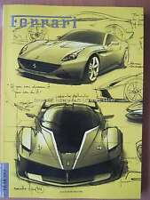Ferrari magazine Issue 27 December 2014 458 Special A LaFerrari Luca Montezemolo
