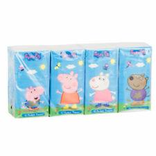 Peppa Pig - Poche Mouchoirs - 8 Paquets De 10 Mouchoirs - Tout Neuf & Emballé