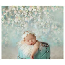 5X7FT Flowers Wall Photo Backdrop Baby Newborn Kids Photography Background Props