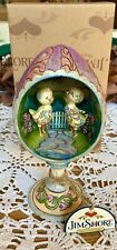 """New Jim Shore """"Hatched Just In Time For Spring"""" Chicks/Egg Diorama ~ Easter"""