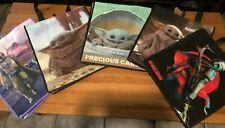 Precious Cargo  Mandalorian, Star Wars Baby Yoda The Child 5 Reusable Bags NEW