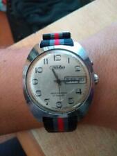 SLAVA Soviet Russian USSR vintage Watch OROLOGIO WORKING 27 JEWELS uomo man
