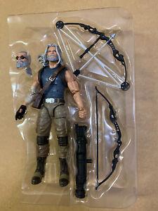 "Marvel Legends OLD MAN HAWKEYE 6"" Figure X-MEN from Logan Wolverine 2-pack Loose"