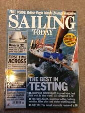 Sailing Today Magazine Issue 57 January 2002 Dufour Arpege & Bavaria 32