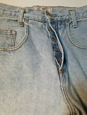 Guess Jeans Distressed Button Closure 30X30