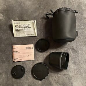 Sony VCL-DH1758 Tele Conversion Lens X1.7  from Japan
