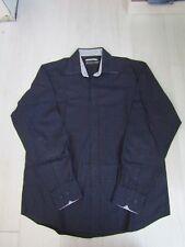 Men's Johnston & Murphy Tailored Fit Button-Front Checkered Dress Shirt Size M
