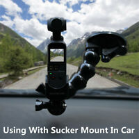 For DJI OSMO Pocket Accessories Mount Bracket Glass Suction Cup Car Holder ~