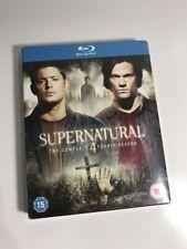 Supernatural: The Complete Fourth Season Four 4 [Blu-ray Set, Region Free] NEW