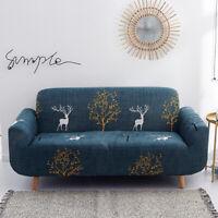 2/3 Seater Slipcover Chair Sofa Cover Soft Stretch Elastic Slipcover Home&Garden