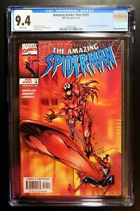 AMAZING SPIDER-MAN #431 CGC 9.4 - WHITE PAGES *COSMIC SURFER CARNAGE*
