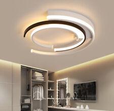 Acrylic Modern LED Ceiling Lights Living Room Bedroom White+Black Ceiling Lamp