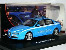 EG Edison Giocattoli 804721 2006 Alfa Romeo 159 Polizia 1/43