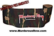 MURDEROUS ROW Bench Press Sling Shot (L)- DESERT STORM CAMO LIMITED EDITION