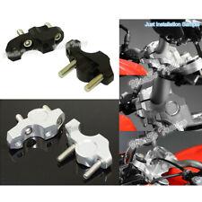 Handlebar Bar Riser Adapter Kit 25mm Up & 20mm Back For 2013-2019 BMW S1000R K47