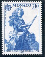 TIMBRE DE MONACO N° 1459 ** EUROPA / ANNEE DE LA MUSIQUE / PRINCE ANTOINE 1°