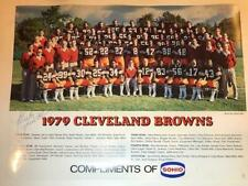 1979 Cleveland Browns Team Photo SIGNED by Mike Pruitt only Alzado Sipe NFL