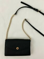 Michael Kors Black Small Crossbody Wallet Handbag