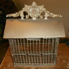 bird cage homemade 11 1/2 x 6 x 12 nice new