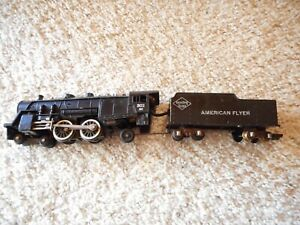 S SCALE AMERICAN FLYER #302AC 4-4-2 STEAMER