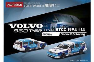 POPRACE 1/64 Volvo 850 Estate BTCC 1994 #14 Volvo 850 Racing Jan Lammers