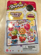Shopkins 100 Piece Puzzle No Shopkin Included Metal Tin