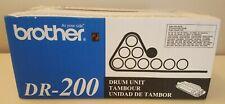 brother DR-200 Toner Cartridge Drum Unit Black New Condition