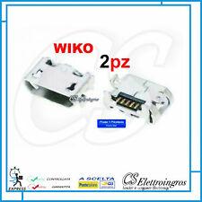 2pz Connettore di ricarica micro usb Wiko Lenny 3 Sped. Pro 1