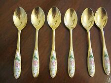 Set of 6 teaspoons  as new