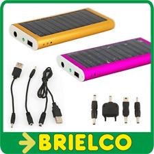 CARGADOR SOLAR CON BATERIA 1350MA PARA MOVIL PDA CAMARA Y OTRO 94X44X10MM BD5716