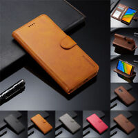For Xiaomi Redmi 9 8A Note 9S 8 7 6 5 Pro Case Flip Magnetic Leather Wallet Skin