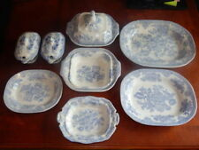 Antique Original Staffordshire Pottery Bowls
