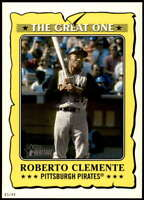 Roberto Clemente 2021 Topps Heritage 5x7 The Great One #GO-12 /49 Pirates