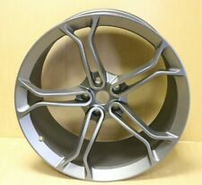 "GENUINE ORIGINAL OEM MCLAREN 650S 20"" REAR ALLOY WHEEL RIM 11J REAR STEALTH GREY"
