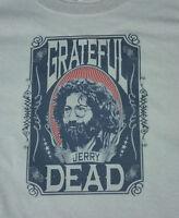 GRATEFUL DEAD new T SHIRT rock jerry garcia gray ALL SIZES s m lg xl 60s