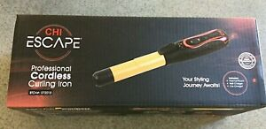 NIP Lot of 2 Chi Escape Professional Hair Curling Iron Cordless New Gift