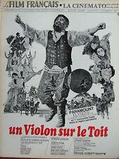 Le Film Français N°1415 (3 déc 1971) Un violon sur le toît