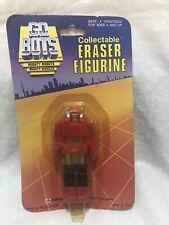 Vtg 1984 GOBOTS SCOOTER Eraser Figurine NEW SEALED UNOPENED Card Toy Robot Tonka