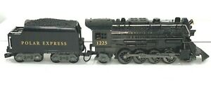 Lionel Polar Express G Scale Engine & Tender 71-1022-250 G Scale Pre-Owned Works