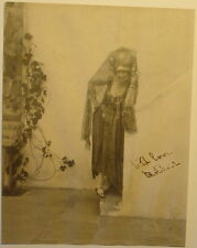 1st Professional Female Photographer JESSIE TARBOX BEALS Signed 1920s Photograph