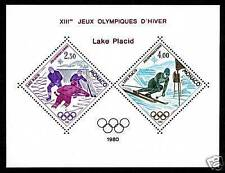 "MONACO STAMP TIMBRE BLOC SPECIAL 12 ""JEUX OLYMPIQUES LAKE PLACID 1980"" NEUFxxTTB"