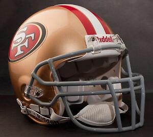 RANDY MOSS SAN FRANCISCO 49ers Schutt OPO-DW Football Helmet FACEMASK - GRAY