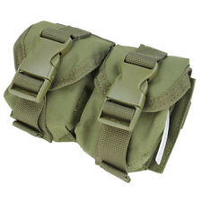 NEW Condor MA14: Tactical MOLLE Dual Double Frag Grenade Pouch MA14-001 OD Green