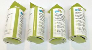 (4) Honey-Can-Do LNT-01589 60-Sheet Standard Lint Roller Refill