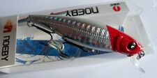 Noeby leurre pêche mer rivière 8cm 9,2g nage jusqu'à 2m couleur rouge et blanc