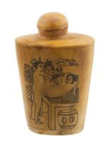 Bottiglia Bottiglietta Boccetta Arte Shunga Erotico Giapponese Vintage 3511 K 78