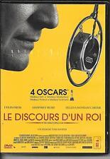 DVD ZONE 2--LE DISCOURS D'UN ROI--FIRTH/RUSH/CARTER/HOOPER
