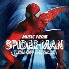 """""""SPIDER-MAN: TURN OFF THE DARK"""" BROADWAY CAST CD 2011"""