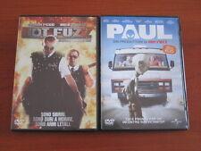 "SIMON PEGG & NICK FROST "" HOT FUZZ "" + "" PAUL "" 2 DVD ORIGINALI UNIVERSAL"