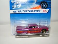 1:64 Hot Wheels 1997 First Editions 1959 Chevy Impala #5 of 12 Die Cast Car